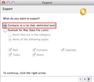Learn to Export Contacts from Outlook 2011 to Gmail in Mac OS